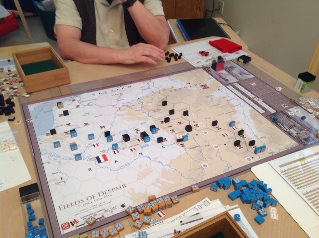 The Schlieffen Plan The Way Schlieffen Planned It The Big Board